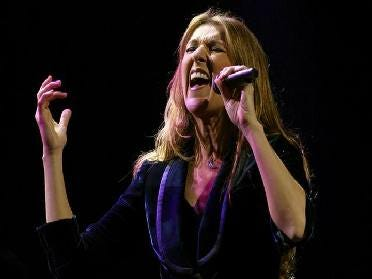 Celine Dion Concert Postponed