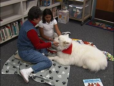 Dog Helps Kids Learn To Read