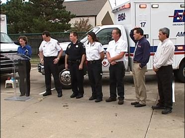New Sirens Sound Off On Ambulances