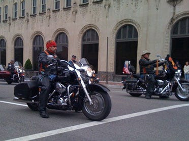 Veterans Honored With Parade