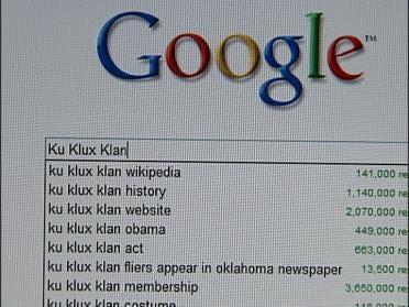 Internet New Frontier For KKK