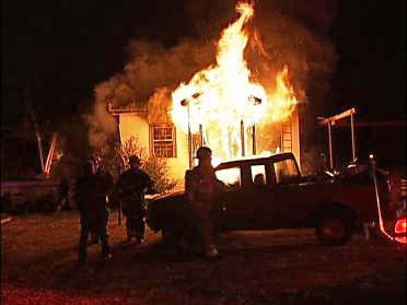 Rural Home Destroyed By Fire
