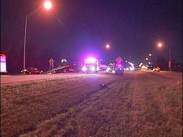 Two Injured In Head On Accident