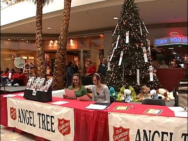 Salvation Army Lights Up Angel Tree