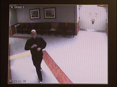 Hunt On For Hospital Burglar