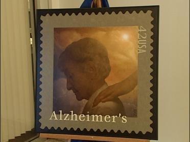 Stamp Raises Alzheimer's Awareness