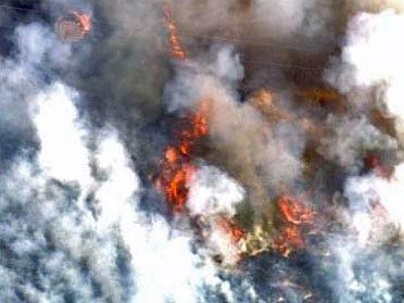 Creek County Grass Fires