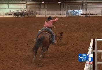 Top Women Ropers & Racers Saddle Up At Expo Square