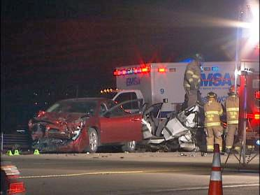 Two Dead, Three Injured In Tulsa Wreck