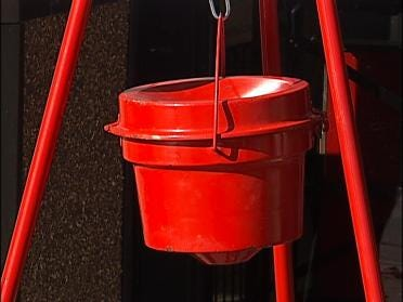 Red Kettle Drive Kicks Off