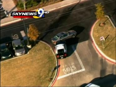 High Speed Chase Ends Safely