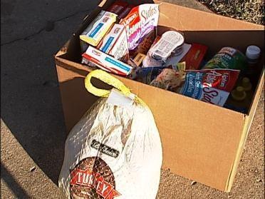 Tulsa Charity Short On Turkeys