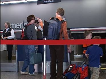 Busy Time At Tulsa International Airport