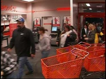 Black Friday Shoppers Out In Force