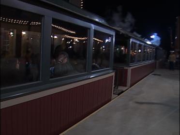 Christmas Train Back On Track