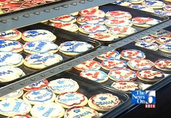 Bakery Conducting Cookie Poll