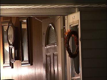 Six Rounds Fired Into Home's Front Door