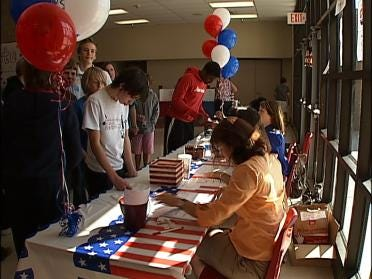 Students Get A Chance To Vote