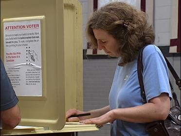 Voter Turnout Above 2004 Levels