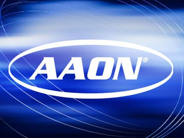 AAON Says Sales Up In 3rd Quarter