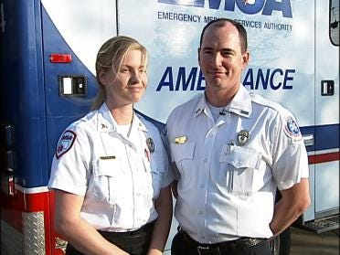 EMSA Paramedic Returns From Iraq
