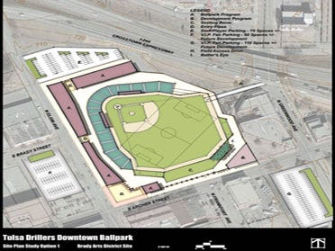 Lease Deal Reached On Downtown Ballpark