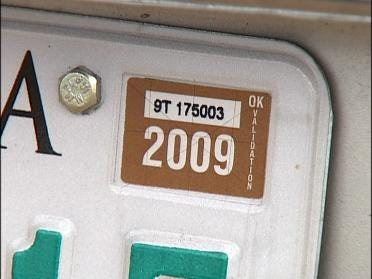 Thieves Targeting Your License Plate