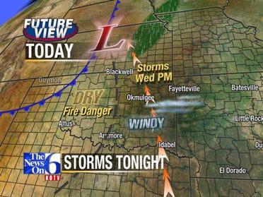Tornado Risks In The Forecast
