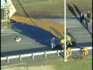 Accident Causes Massive Ink Spill