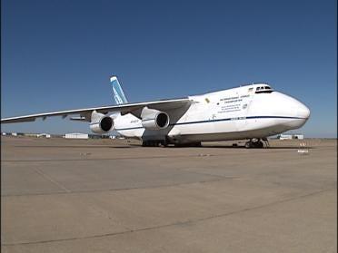 Large Aircraft Makes Tulsa Stop