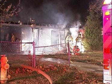 Firefighters Fight Overnight Blaze