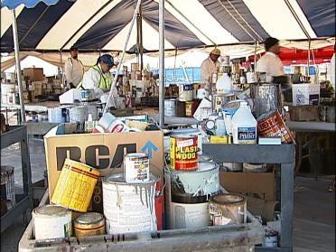 M.E.T. Taking Hazardous Waste