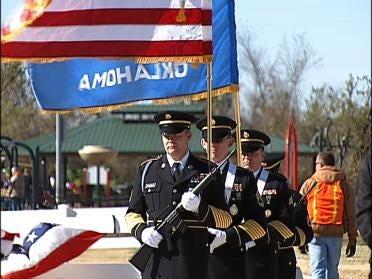 Veterans Day Ceremony Draws Crowd