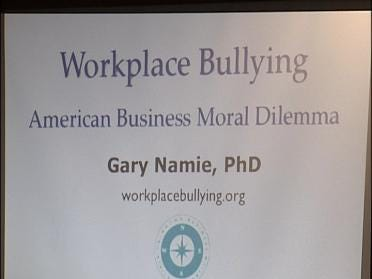 Conference Takes On Workplace Bullies
