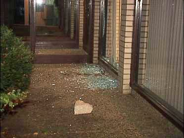 Police: Concrete Blocks Connect Burglaries