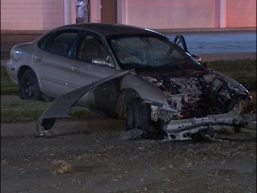 Driver Ejected From Vehicle Following Crash