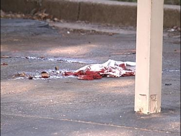 Man Shot In Head, Dumped From Vehicle