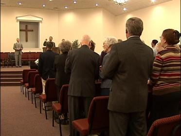 Worshippers Rejoice In New Church
