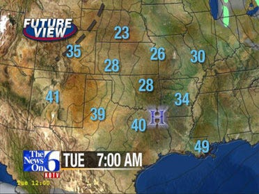 Freezing Temps In The Forecast