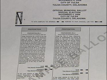 Why Are There Two Street Questions On The Ballot?