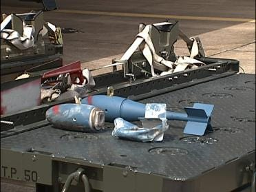 Air Force Releases Report On Accidental Dummy Bomb Drop In Tulsa