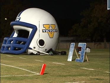 Injured Victory Player Honored