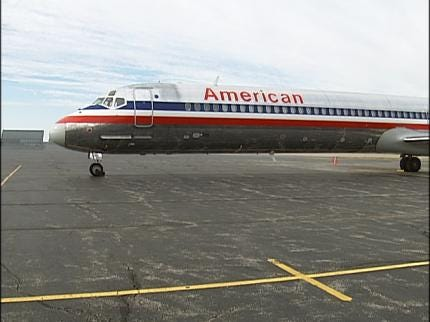 American Airlines Donates An Airplane