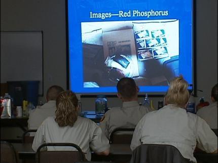 Tulsa County Deputies Take Meth Class