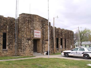 City Takes Over Armory In Hominy