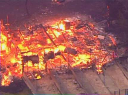 Crews Continue To Battle Fires In State
