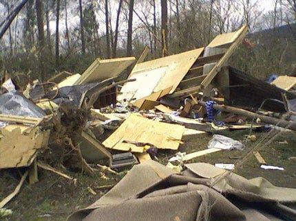 Damage Reported In Oklahoma Tornadoes