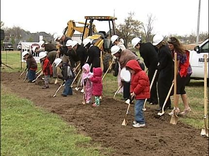 Ground Breaking For Happy Hands Education Center