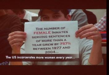 Students 'Challenged' to Help Incarcerated Women