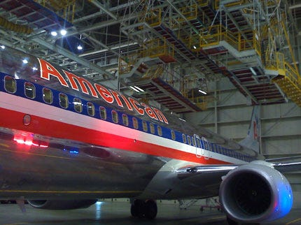 American Rolls Out New 737s